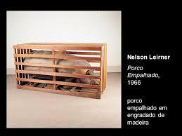 60, Arte, O Porco, Nelson Leirner, 1966